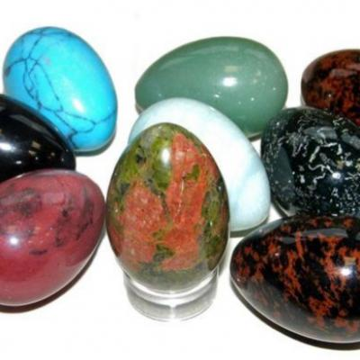 Gemstone eggs